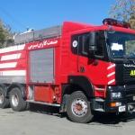 عکس کامیون آتش نشانی آمیکو